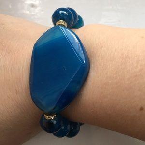 Jewelry - Blue Stone Stretch Bracelet